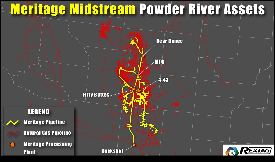 Meritage Midstream Powder River Assets