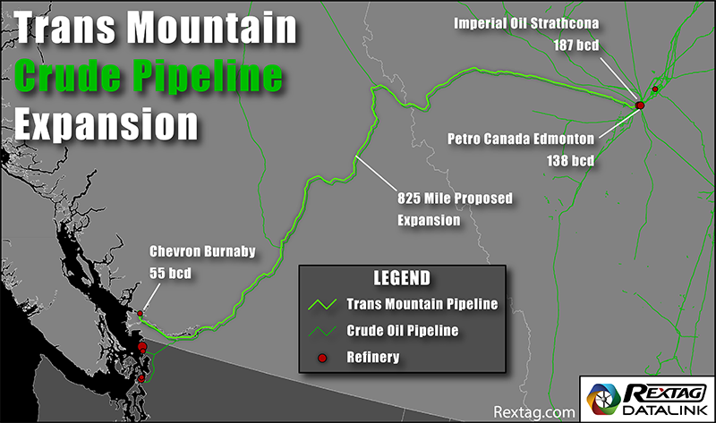 Trans Mountain Crude Pipeline Expansion