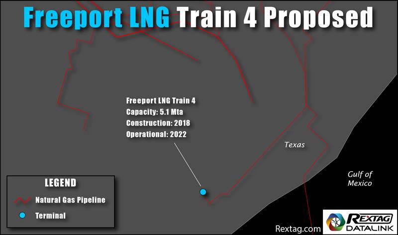 Freeport LNG 4th Liquefaction Train Proposal
