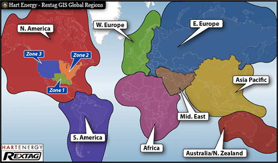 United States Divided Into Regions. Areas Of Europe Compared ...