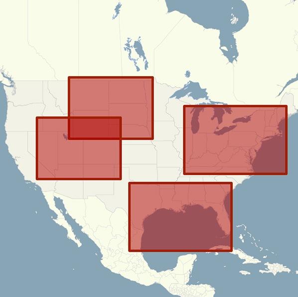 Regional  Printed Maps